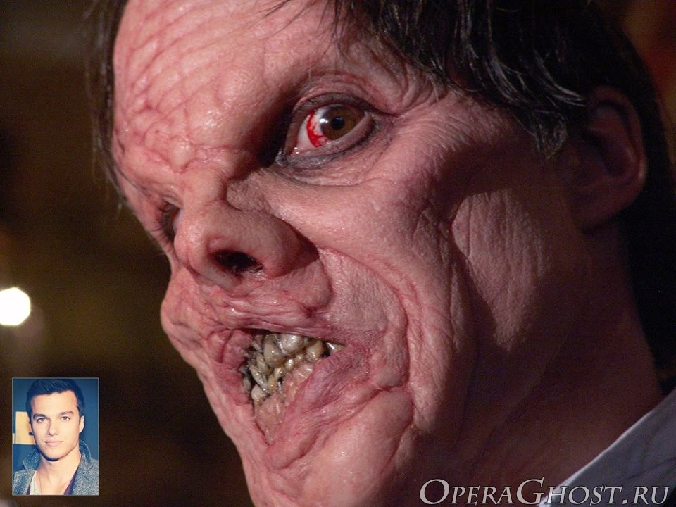 Грим Призрак Оперы